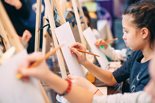 Kids Classes at Heartroom Gallery