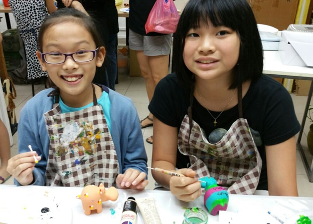 Kids Art Classes - Decorative Painting