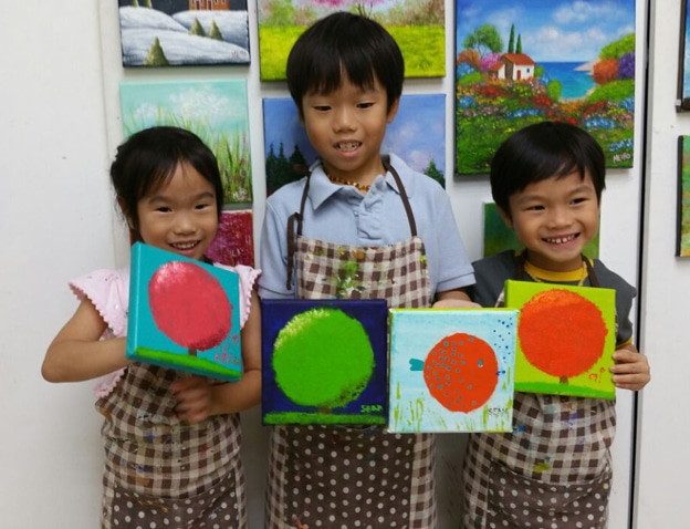 Art Classes for Kids - Canvas Painting