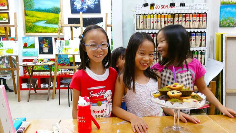 Art Jamming Party - Birthday