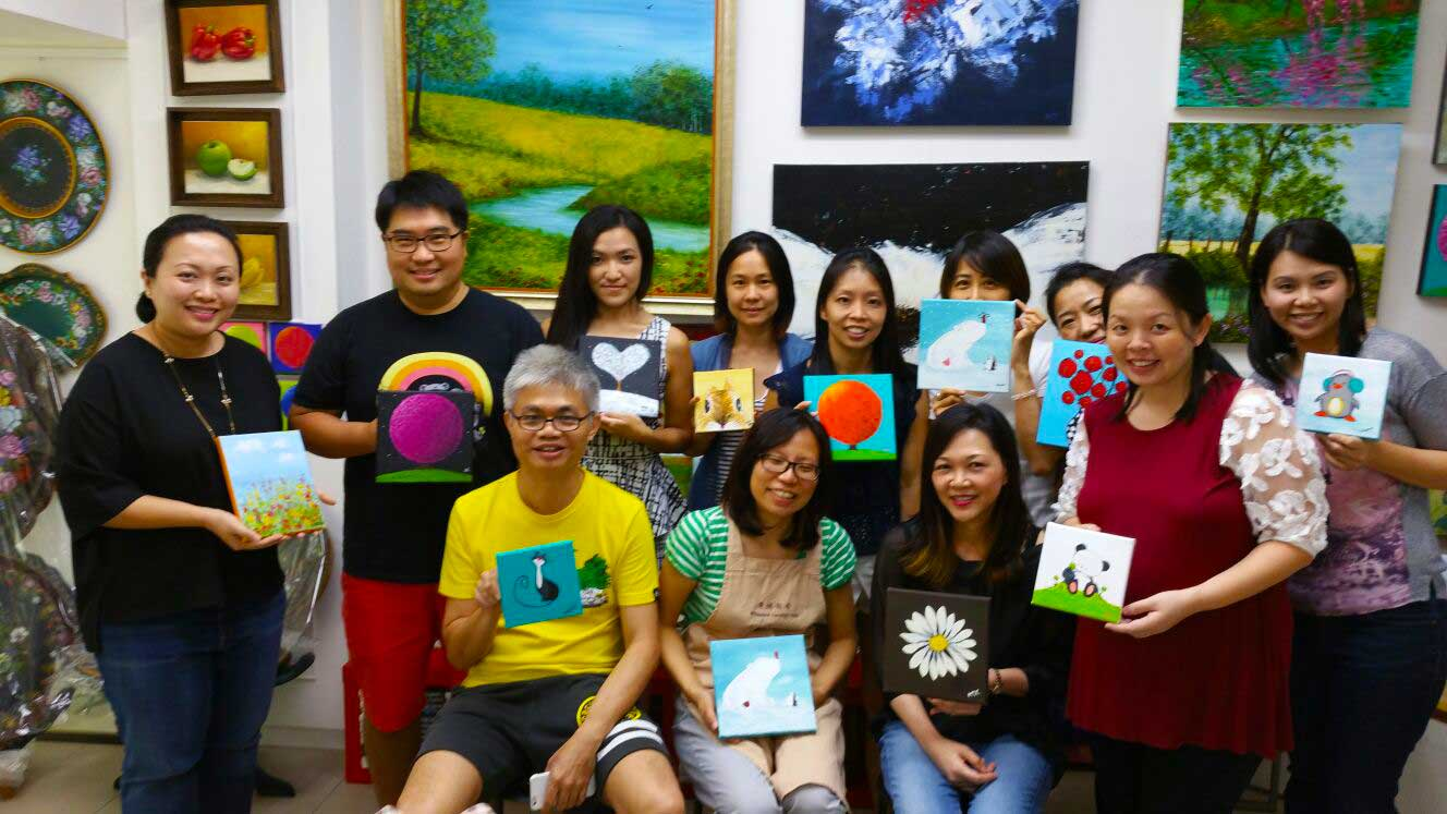 Art Jamming Parties - Team Building Event