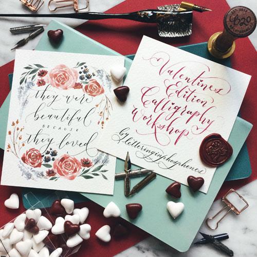 Modern Calligraphy Workshop Singapore