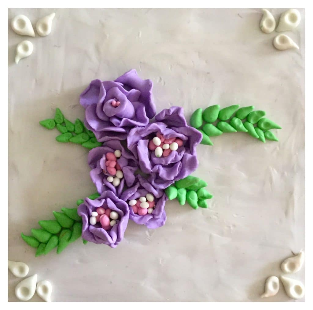 Air Dry Clay Flowers - Heartroom Gallery
