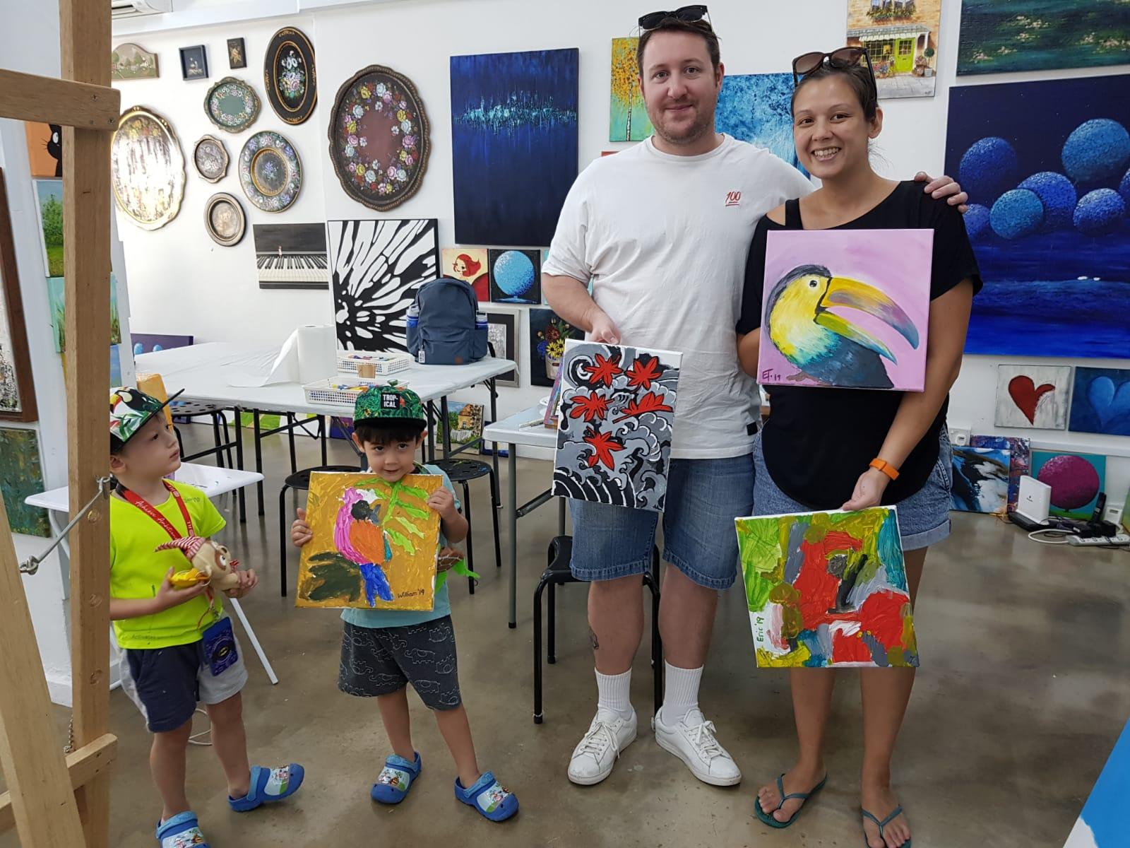 Family Art Jamming